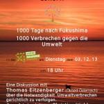 """Einladung zum Vortrag der """"Grüne-Akademie"""" zum Thema Umweltverbrechen"""