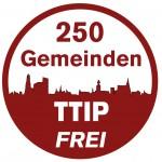 250 Gemeinden TTIP FREI