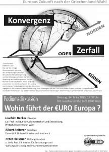 Flyer zur Griechenlanddiskussion